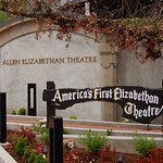 Open-air Elizabethan Theater.