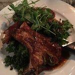 Pork Sausage, Pork Chop & Belly Pork with Dauphinoise Potatoes
