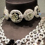Detail from Maharaja Bhupinder Singh of Patialia's necklace - Cartier exhibition