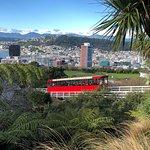 ภาพถ่ายของ Wellington Cable Car