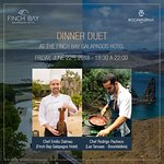 Experience a unique night of gastronomic delight al the FINCH BAY GALAPAGOS HOTEL