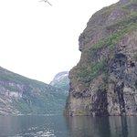 Bilde fra Geiranger Fjord