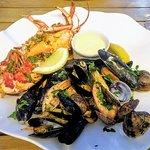 Mixed roast shellfish
