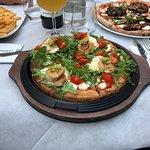 Celestino: Pizza con salame piccante
