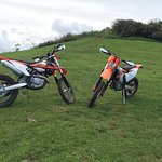 Riding on the Ngong Hills
