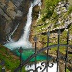 Waterfall Savica resmi