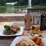 Schnitzel und Fisch
