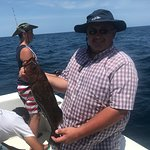 I've tried for year to catch a grouper and I finally did on Fish Hook Charters!!!  Super stoked!