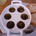 ślimaki z truflami (mała porcja)