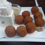 Meatballs (?) - crusty goodness