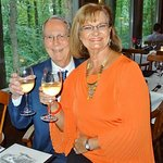 My husband & I....cheers!