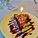 Sinful birthday dessert.....yummy!