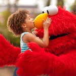 Hugs from everyone's favorite Sesame Street Friends