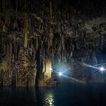 Cho Ha Cenote amazing stalagmite formations
