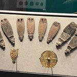 Display of Viking artefacts.