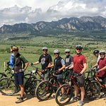 Group mountain bike tours