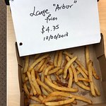 $4.75 for these fries - I ate 5 fries before taking this pic