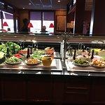Nice salad bar.