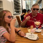 Some of us had ice cream sundaes