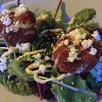 Salmon Rice Balls Appetizer: Excellent!