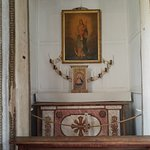 One of the pictures at the Mission.