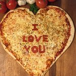 Heart Pizzas - anytime of the year