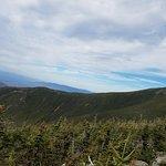 View heading up Mount Washington