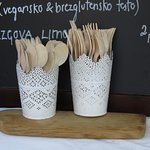 Ecological tableware