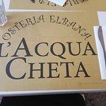 L'Acqua Cheta Osteria Elbana Foto