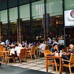 Great outdoor and indoor dining options!