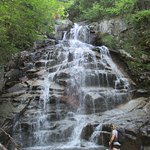 The third waterfall on Falling Waters Trail