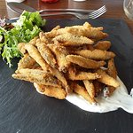 Whitebait for starters - is this all for me?