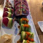 Sushi rolls with a twist