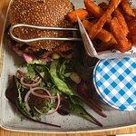 Piri Piri Chicken Burger