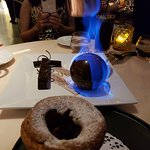 The Flaming Chocolate Mousse and the Souffle