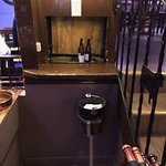 They had a dumb waiter to bring up food and drinks! First time my teenage daughter saw one.
