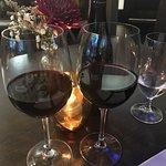 Wine in relaxing atmosphere