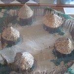 Maqueta de poblado indígena