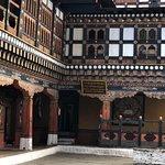 The monastery of Rinpung Dzong
