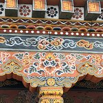 Woodcarving in Rinpung Dzong