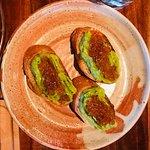 pan + avocado + ikura