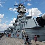 ภาพถ่ายของ Battleship Wisconsin