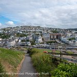 Ilfracombe from the hill.