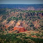 Palo Duro Canyon at the Visitor Center