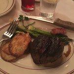 Petite Filet, Cottage Fries, Asparagus, Bacon