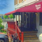 Bayou Cafe facing River St.