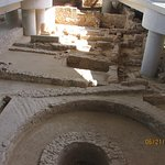 Ruins below Museum