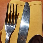 Dirty fork