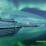 北极光中心照片