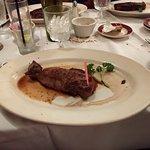 NY Strip steak Medium rare